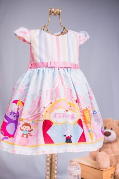 Vestido Circo Rosa