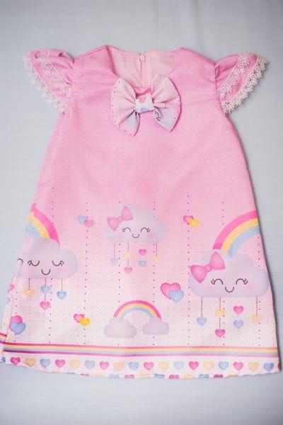 Vestido Chuva de Amor Tubinho