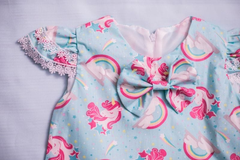 Vestido De Unicornio Infantil