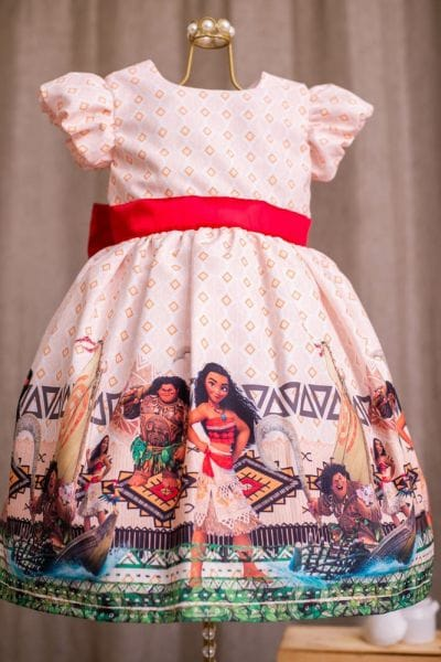 Vestido da Moana