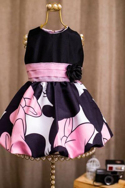 Vestidos da Minnie Rosa Mae e Filha