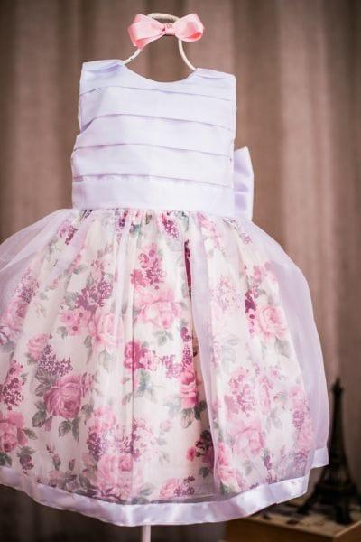 Vestido Daminha Floral