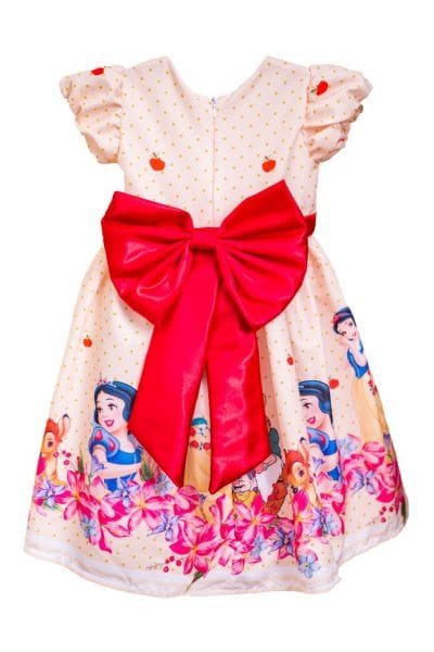 Vestido da Branca de Neve Infantil