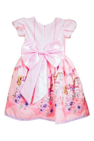 Vestido Temático Carrossel Encantado