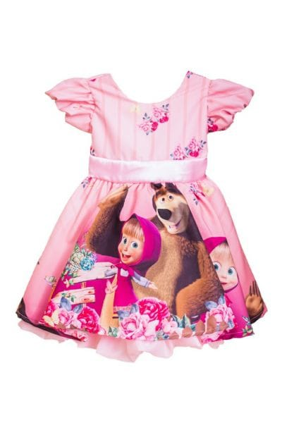 Vestido da Masha e do Urso