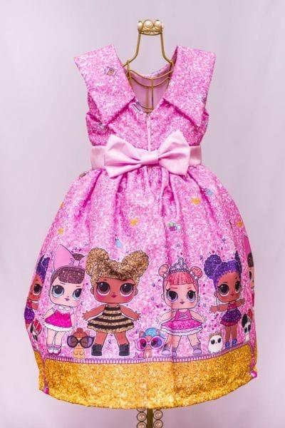 Vestido da Lol Rosa