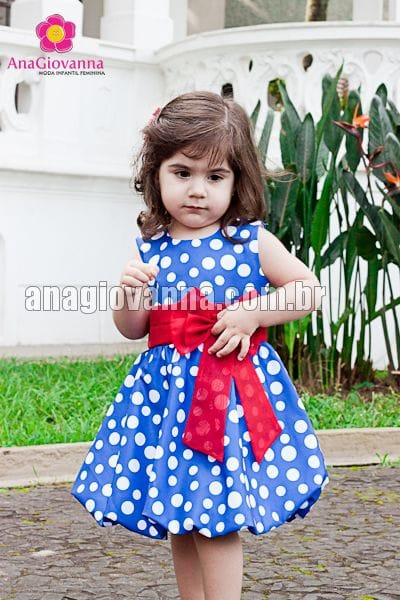 Vestido Galinha Pintadinha Baby