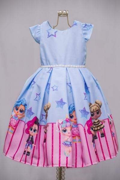 Vestido Infantil Lol Surprise