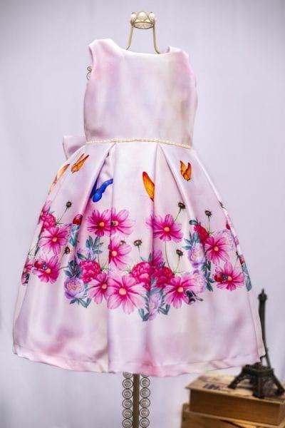 Vestido Infantil Para Festa Jardim Encantado