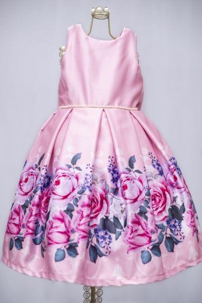 Vestido Festa Infantil Princesa