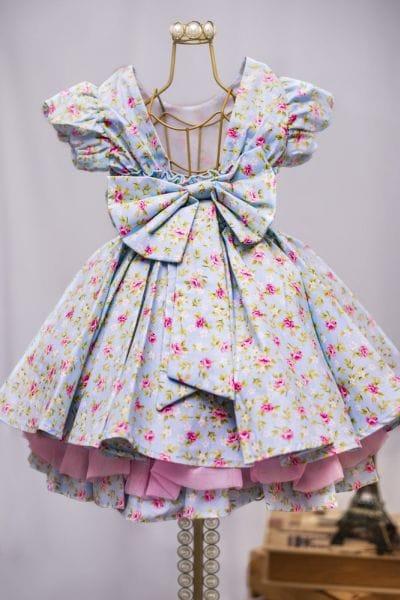 Vestido de Tricoline Infantil