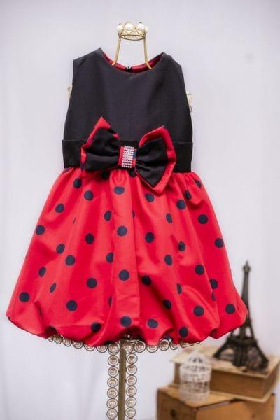 Vestido Para Festa Infantil da Minnie