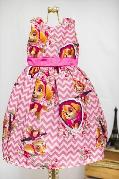 Vestido Infantil Skye
