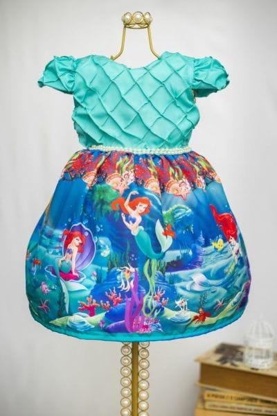 Vestido Princesa Ariel