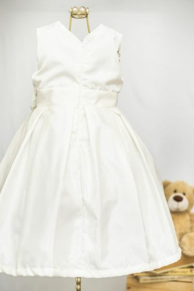 Vestido Infantil Off-White