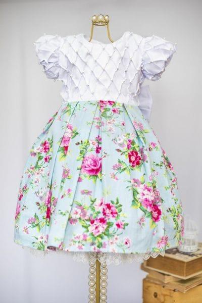 Vestido de Florista Infantil