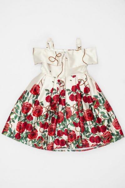 Vestido infantil para festa de formatura