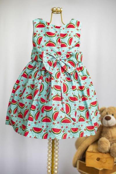 Vestido Infantil Melancia
