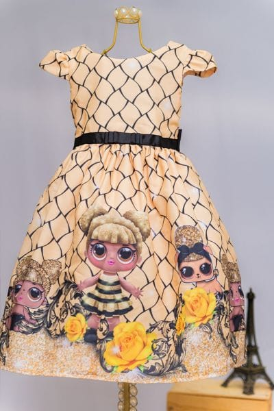 Vestido Da Lol Queen Bee