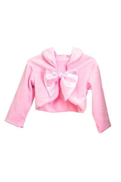 Bolero Rosa Infantil de Plush