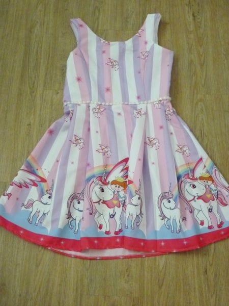 Vestidos Mãe e Filha Unicornio
