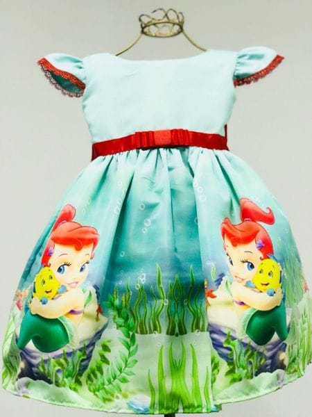 Vestido da Ariel Baby
