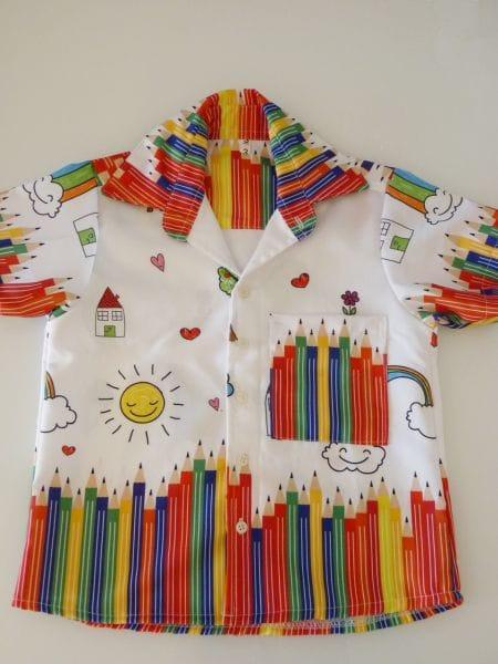 Camisa Infantil Aquarela