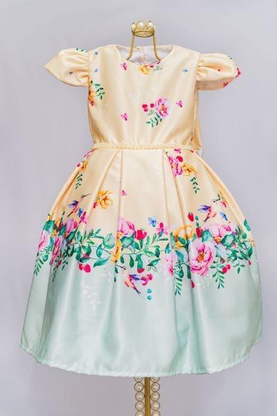 Vestido de Florista Infantil Para Casamento