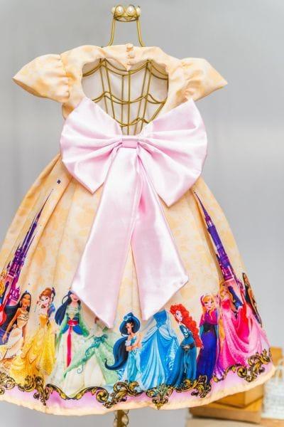 Vestido Das Princesas da Disney Infantil