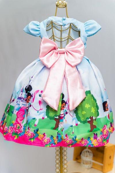 Vestido da Princesa Nella
