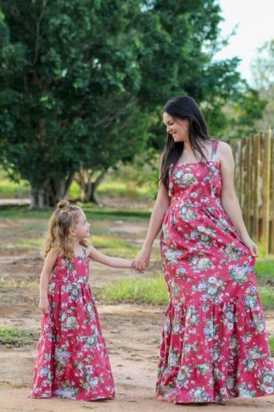 Vestidos Mãe e Filha Longo