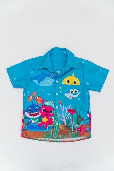 Camisa Infantil BabyShark