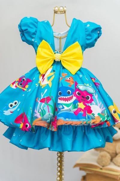 Vestido Baby Shark