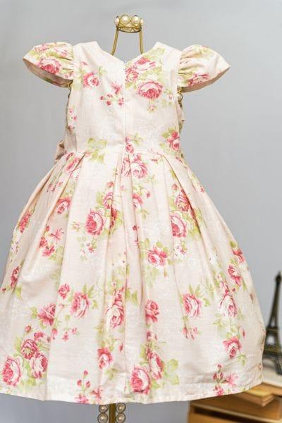 Vestido de Daminha Floral