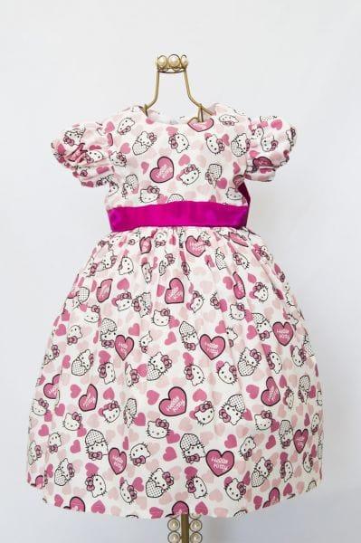 Vestido da Hello Kitty Infantil