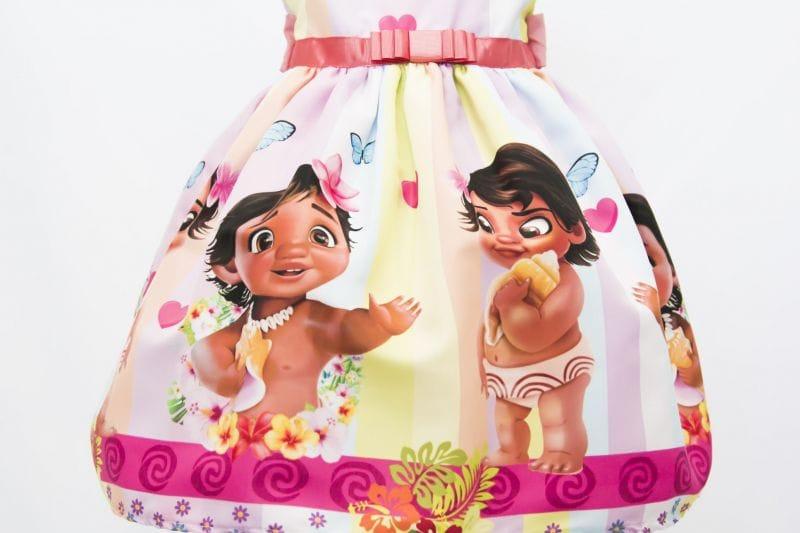 Moana Baby Vestido
