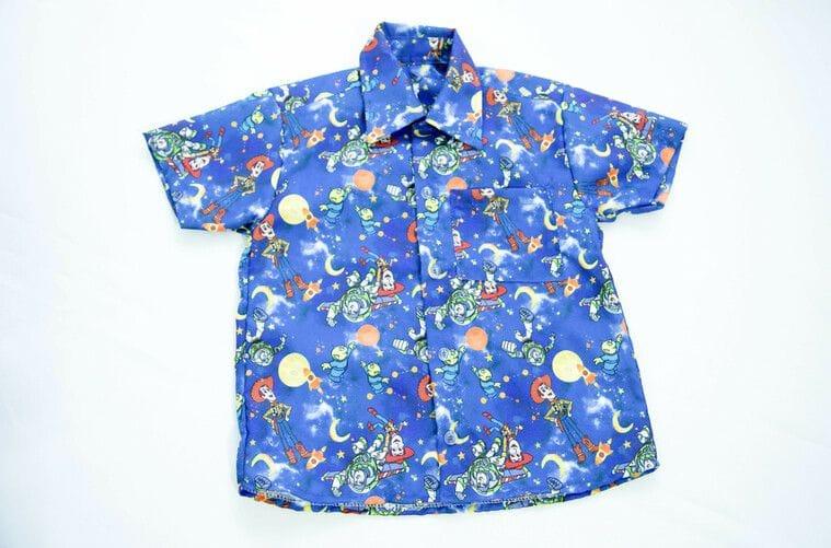 Camisa Social Infantil do Toy Story