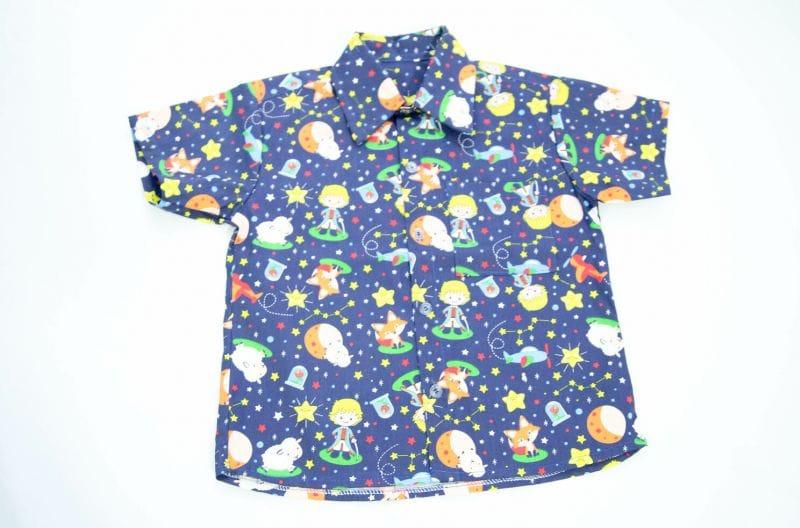 Camisa Infantil do Pequeno Principe