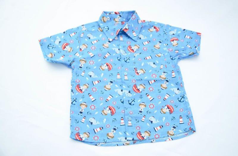 Camisa Infantil Marinheiro