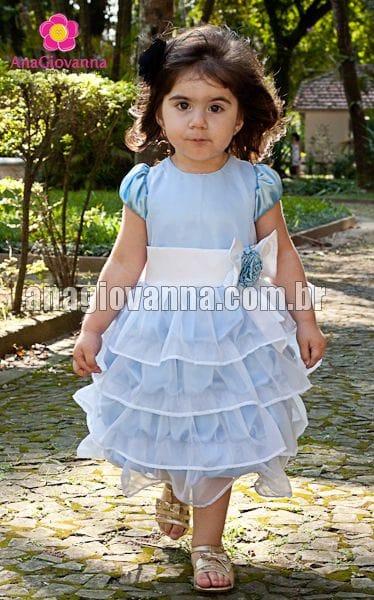 Vestido para Festa Infantil da Cinderela
