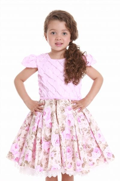 Vestido de Dama de Honra Rosa