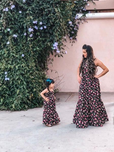 Vestidos Tal Mãe Tal Filha Longo