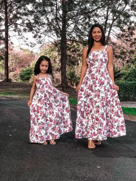 Vestidos Longo Mãe e Filha