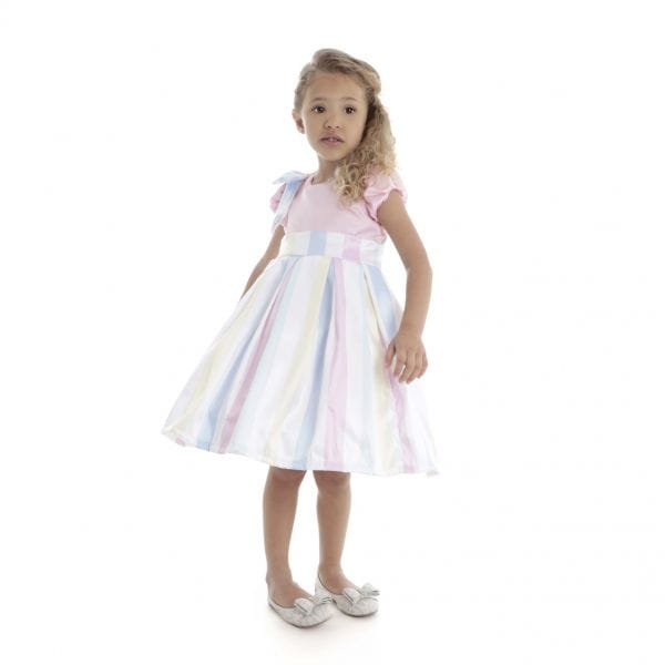 Vestido de Festa Infantil Candy Color