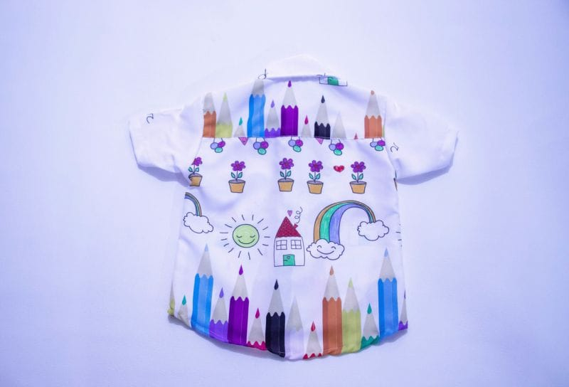 Camisa Aquarela Infantil