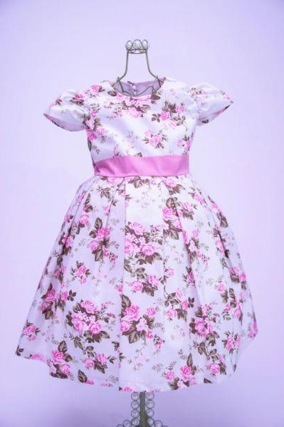 Vestido Floral Para Daminha