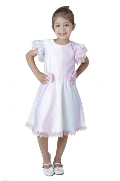 Vestido Infantil Tema Arco Iris