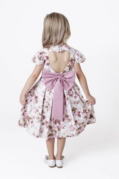 Vestido Floral Infantil Para casamento