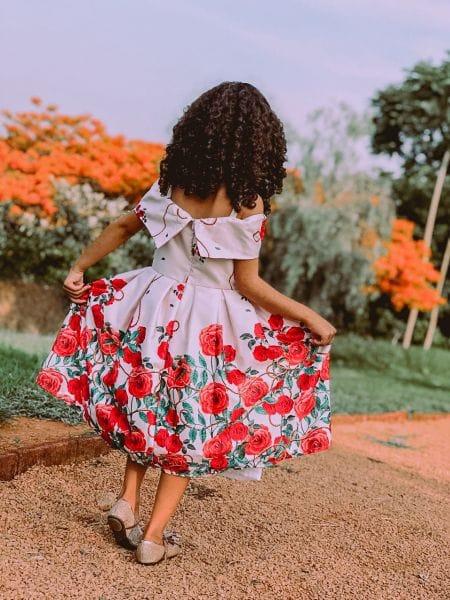 Vestido Infantil Para Casamento Durante o Dia