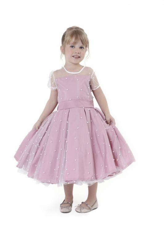 Vestido Infantil Rose